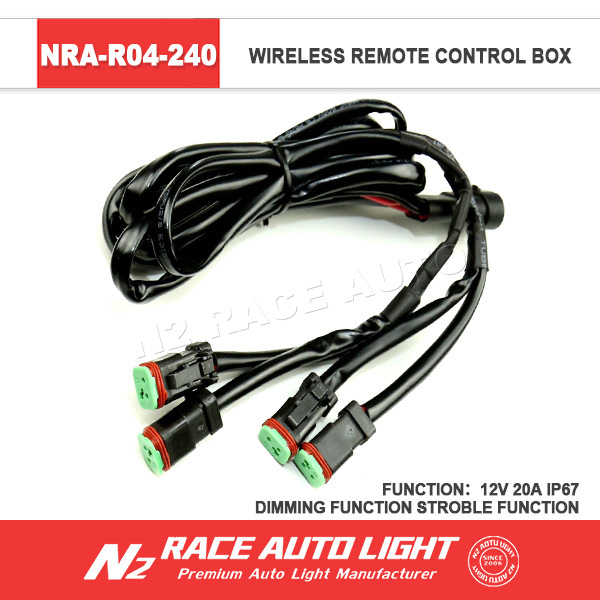 New product auto led work light remote strobe control