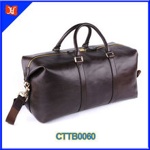 Genuine Leather Duffle Bag Big Capacity Custom Leather Duffle Bag
