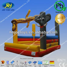 King of Forest--Lion Inflatable Jumper, CE Air Jumping Bed Inflated
