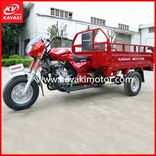 Guangzhou manufacturer new 150CC/200CC/250CC three wheel motorcycle/ tricycle with hydraulic cargo motorcycle loading box