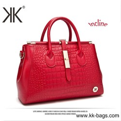Lady Genuine Leather Briefcase High Class Office Bag women with cheap price