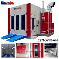 Bluesky China supplier baking oven spray booth sand blasting machines
