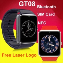 2015 new design 1.54 inches bluetooth phone watch with camera