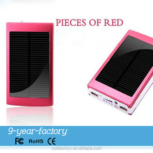 New product solar mobile recharge with 6000mAh