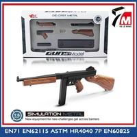 Self-assamble die cast toy gun 1 6 TMS weapon toy