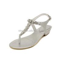 Fashion flat fancy summer sandals 2014 for women