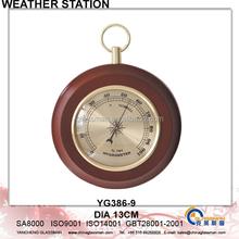 Wooden Weather Station Barometer Decor YG386-9