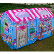 Store house kids play tent