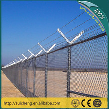 Used Chain Link Fence Gates/Decorative Chain Link Fence/Galvanized Chain Link Fence (Factory)