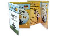 Buy music DVD duplicating machine CDs pack manufacturing custom design