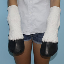 X-MERRY Adult Latex White Horse Hooves Fancy Party Elbow Length Costume Gloves Set Of 2