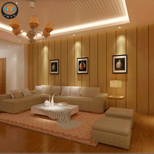Fire Proof Wood Plastic Composite Interior Wall Decorative Paneling