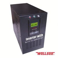 built in mppt solar charging inverter pure sine wave inverter with toroidal transformer ac dc power inverter