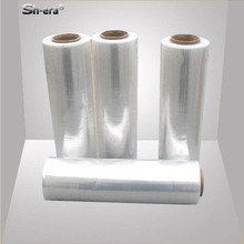 Black and transparent LLDPE material protective film pallet packaging stretch film