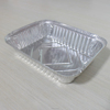 Inflight high heat-resistant silver aluminum food container