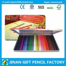 Professional 7 Inches 36 pc Wood Color Pencil for Color Pencil Art