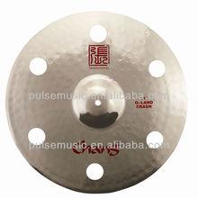 "Hot Sale Chang Oland 16"" Crash Effect Cymbals,Kong Cymbal,Hole Cymbals"