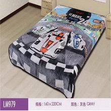 OEM branded organic cotton swaddling wrap blanket