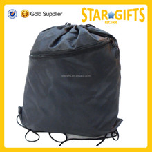 2016 Cheap promotional nylon cute waterproof drawstring bag for beach