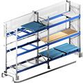 Almacén Longspan estanterías ajustable estantes de metal