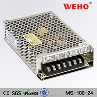 yueqing china 100w single output mini-size power supply desktop