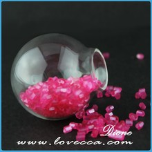 hand blown hollow glass ball ,Dione S~SGC-01 glass cover dome