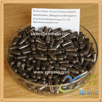 Sexual capsule 500mg per piece can be customized sex product of natural powdered herb extract
