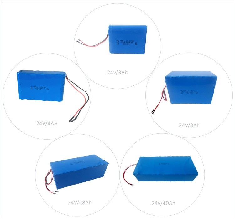 Hot rechargeable 24v 13ah li ion battery pack for e bike for Avantage batterie lithium ion