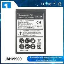 3.7v 1450mAh JM1 battery For Blackberry Bold 9790 Battery Manufacturer