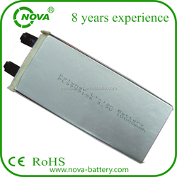 Nova RC battery 3.7v 10ah rechargeable lipo battery cell 9759156 10C Discharge Rate