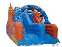 hotsale green dragon waterslide inflatable