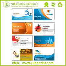 2015 reasonable price film lamination 500g matte glossy art paper printing NFC business card paper