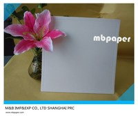 "MB-CP006 10"" White Film Paper Cake Pad/ Cake Boards Square Cake Pads"