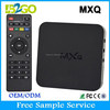 New Products 2015 free samples with free shipping MXQ AMLogic S805 Quad Core2g 8g Android 4.4 4K Smart TV box