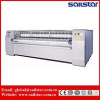 Laundry roll heated flatwork ironer machine for hot sale