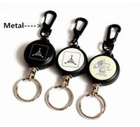 Novelty Metal Wire Spinning Badge Reel/Yoyo ID Badge Reel/Retractable Badge Reel