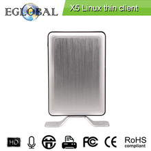 New Arrival reasonable price diskless thin client x5 support all Operation system Win 7/Win 8/Win XP/Linux OS