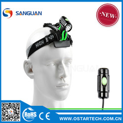 SG-Thumb II 2015 best selling outdoor night riding rechargeable led dynamo bicycle light
