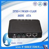 ATA Analog Telephone Gateway with 2FXS ports