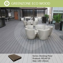 The modern fashion green environmental protection, antiskid waterproof wood composite flooring, outdoor synthetic wood deck