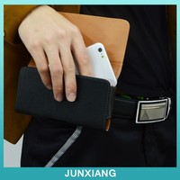 Horizontal pu leather mobile phone case for iphone plus
