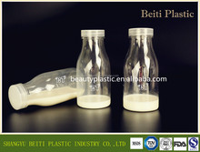 10OZ 12OZ clear plastic milk bottle drink container juice packaging