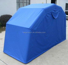 oxford/polyester/pvc& non-woven fabric military tent garage,motorcycle tank cover at factory price