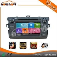 3G/Wifi, Mirror Link, DVR, 1080P HD Video car dvd player for TOYOTA Corolla 2012-