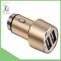 2015 Hot Sale 2 Port Usb Car Charger Ce Fast Charge With high quality