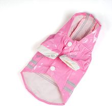 Lanle pet products,warm pet clothes, pet raincoat for wholesale