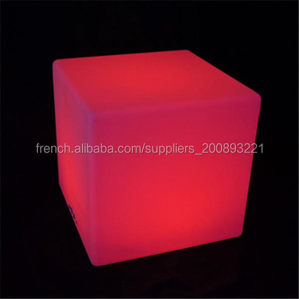 Changeant De Couleur Cube Lumineux Led Chaise Bar Pas Cher Haute Cuisine