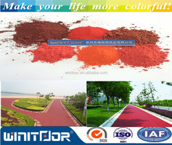 Iron Oxide pigment for colored asphalt with CE and SGS certificate