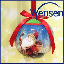 Fashionable wholesale Christmas santa christmas bauble decorations