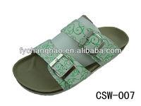2013 latest fashion best ladies cork slippers